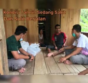 Dari Senayan,Supriansa Pantau Pergerakan Timnya Bantu Warga Kurang Mampu