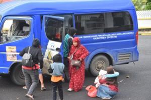 Kaswadi Bawa Pulang 78 Pengungsi Korban Gempa Dari Majene Dan Mamuju