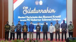 Bupati Soppeng Hadiri Silaturahmi Dengan  Sandiaga Uno di Rujab Gubernur SulSel