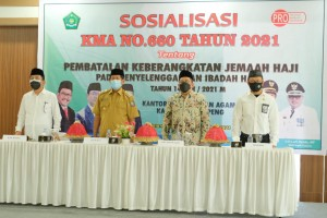 Di Soppeng, Wakil Menteri Agama RI Sebut Pembatalan Keberangkatan Haji Diwarnai Berita Hoaks