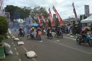 Arafah Brow Pembalap Asal Soppeng, Juara Umum Kejurda Road Race Region V Sulawesi