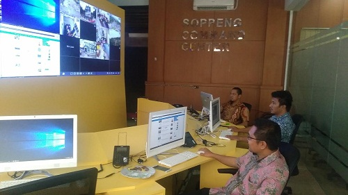 Pantau Kinerja Pegawai, Pemkab Soppeng Pasang 100 CCTV