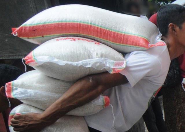960 Kg Beras Bantuan di Gasak Maling Di Soppeng