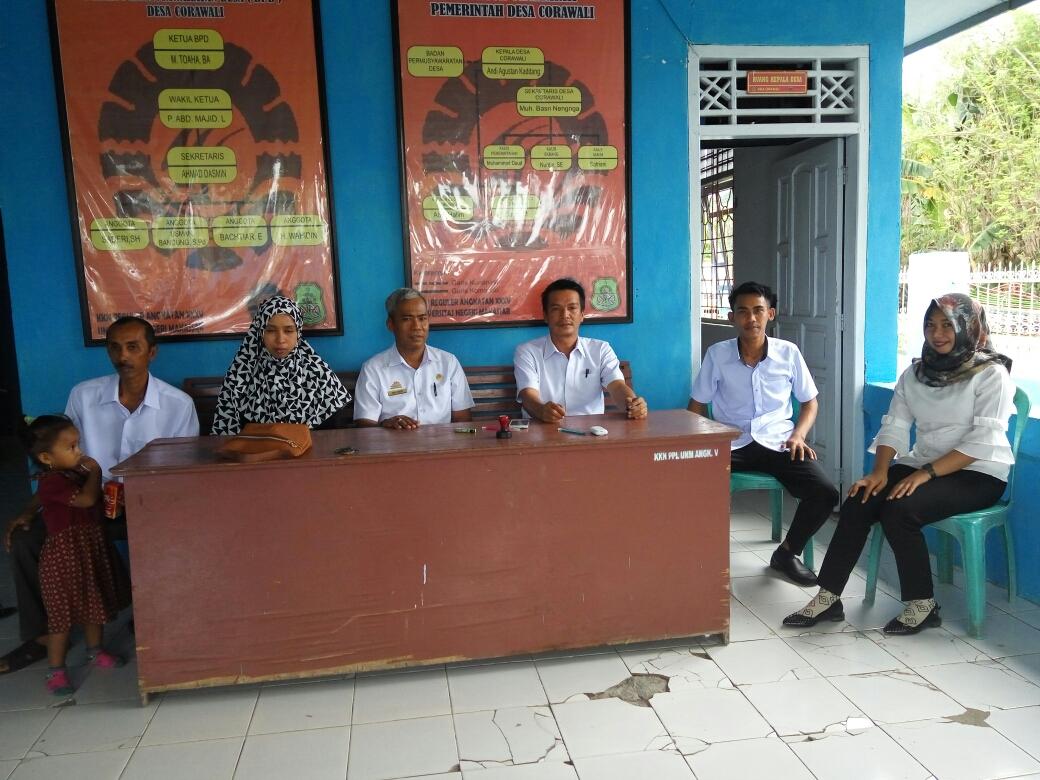 Kades Cirowali, Serap Informasi Untuk Kemajuan Desa