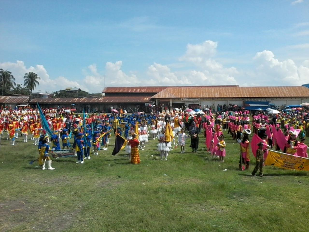 17 Peserta Ikuti Lomba Drumband Di Kecamatan Marioriawa