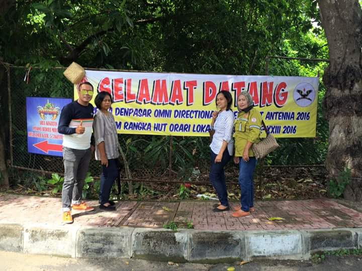 Soppeng Ikut Adu Kuat Antene Di Denpasar Bali