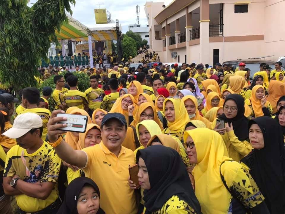 Supriansa Tetap Jadi 'Wakil Bupati' Di Hati Rakyat Soppeng