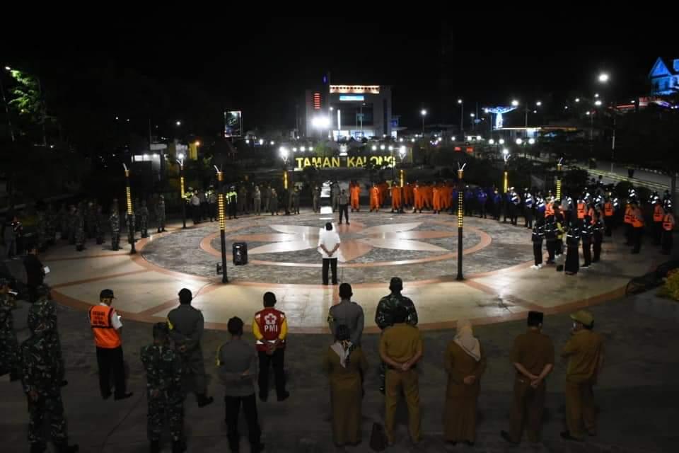 120 Personil Jaga Perbatasan Soppeng, Warga Dilarang Masuk Tanpa Dilengkapi SKBC
