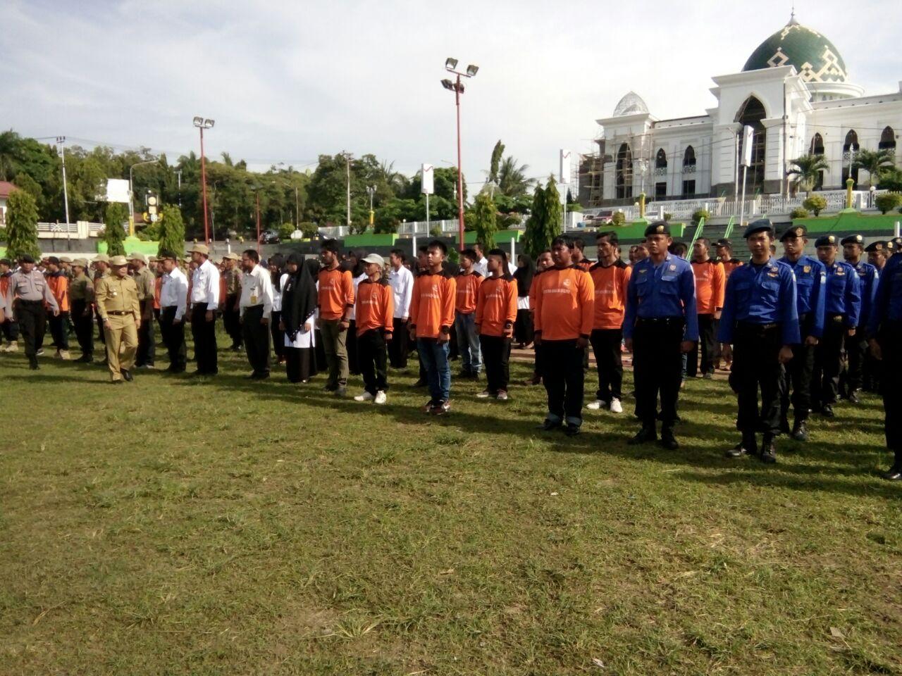 Antisipasi Bencana, Polres Soppeng Adakan Apel Siaga