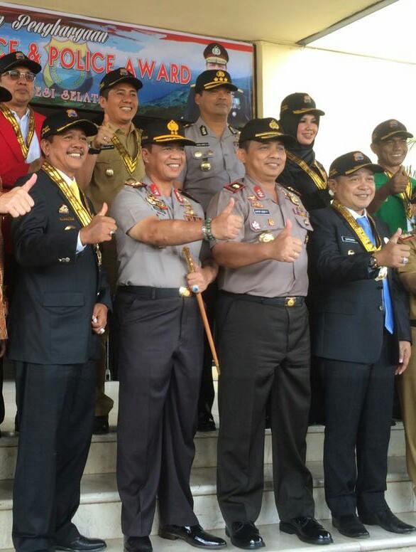 Bupati Soppeng : Honorary Police, Kebanggaan Bagi Kami