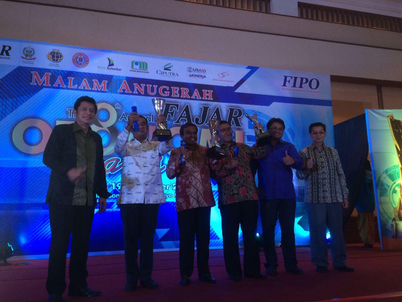 Partisipasi Publik Tinggi,Soppeng Raih FIPO Award