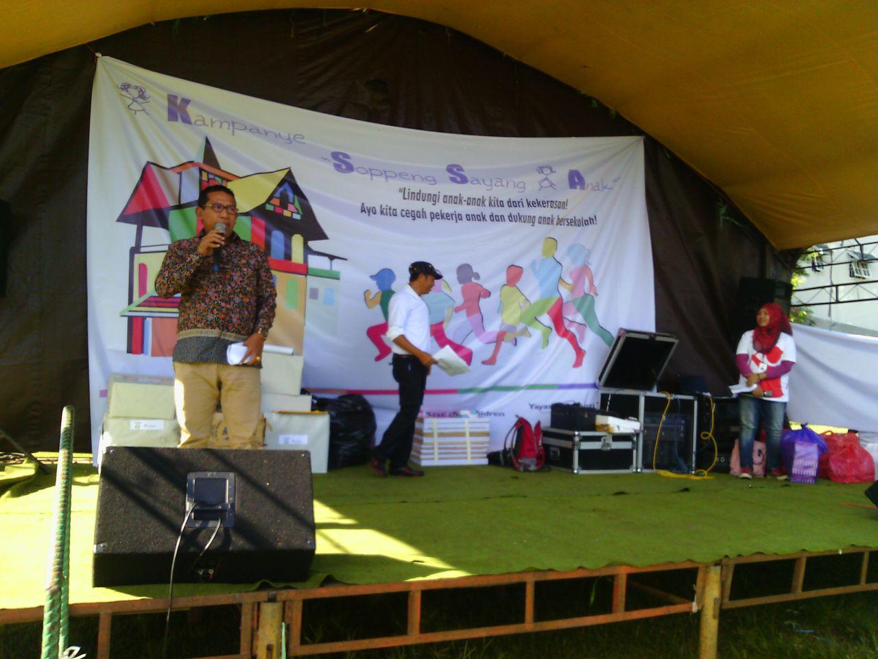 Kampanye Soppeng Sayang Anak Diadakan Di Marioriwawo