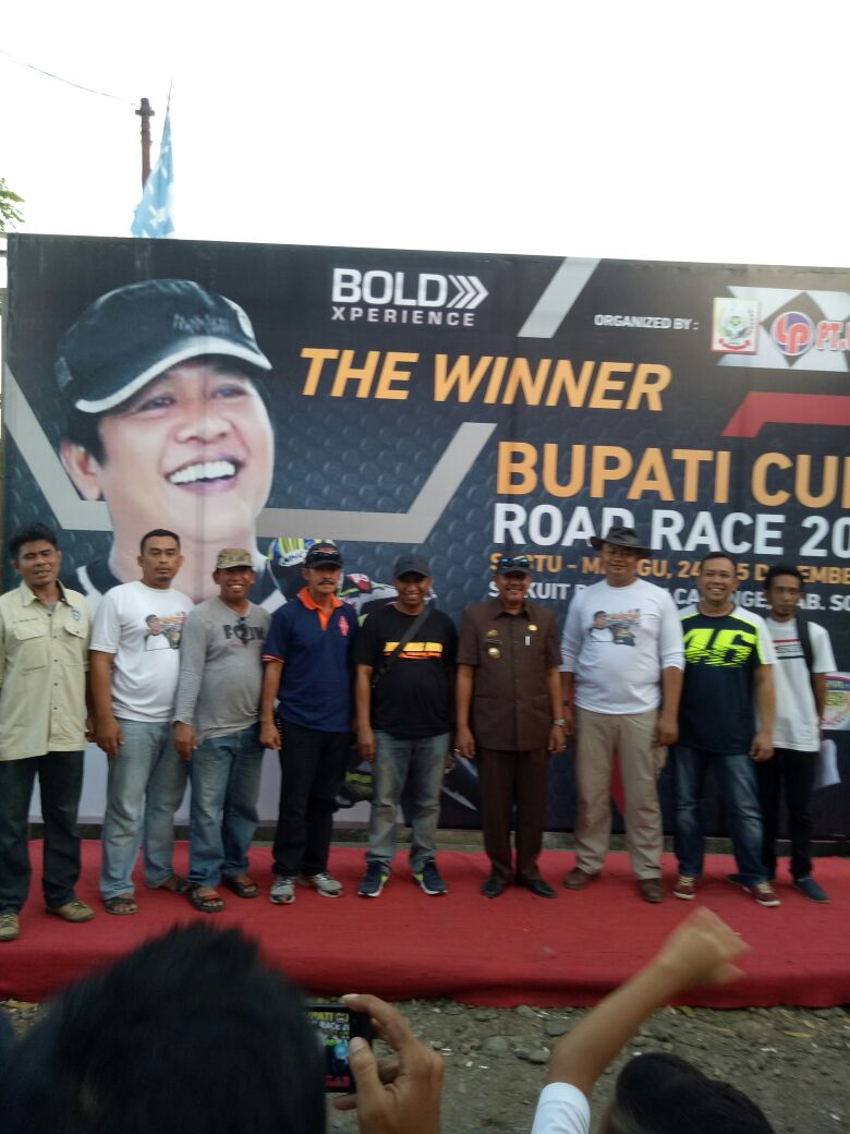 Panitia Road Race Sircuit 8 FCK CabbengE Puas, Lomba Dinilai Sukses