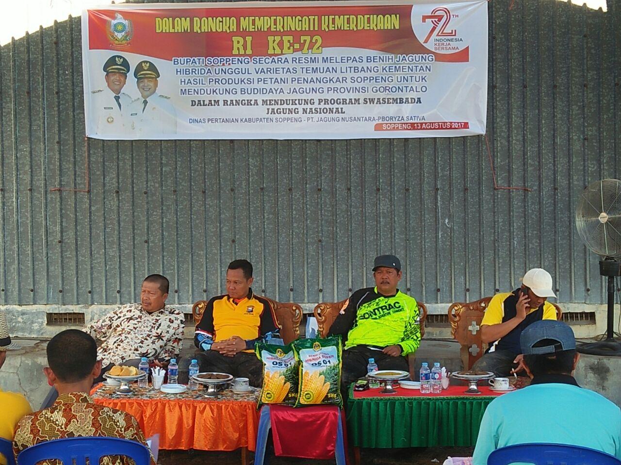 Soppeng Kirim 17 Ton Bibit Jagung ke Gorontalo