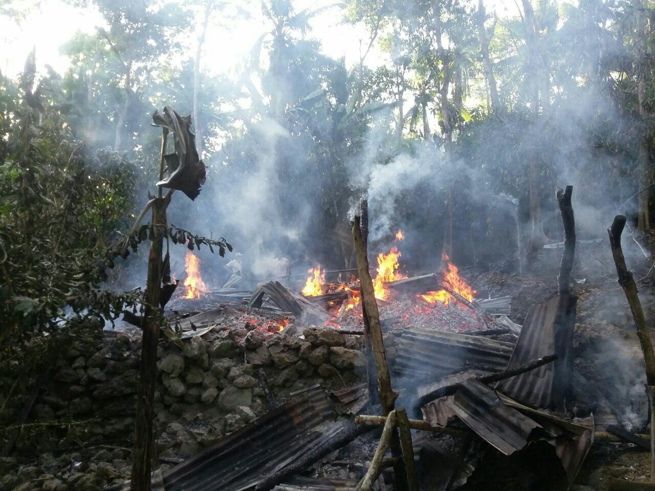 Lagi, Satu Rumah Di GoariE Hangus Di Lalap Api