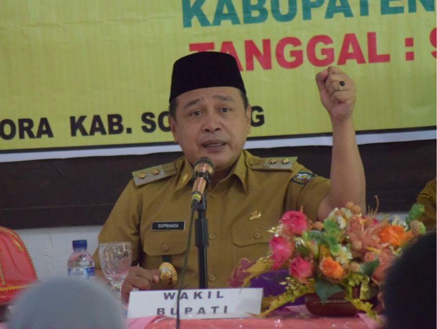 Wabup Soppeng: Kajati Sulsel Layak Jabat Jaksa Agung Muda Intelejen RI.