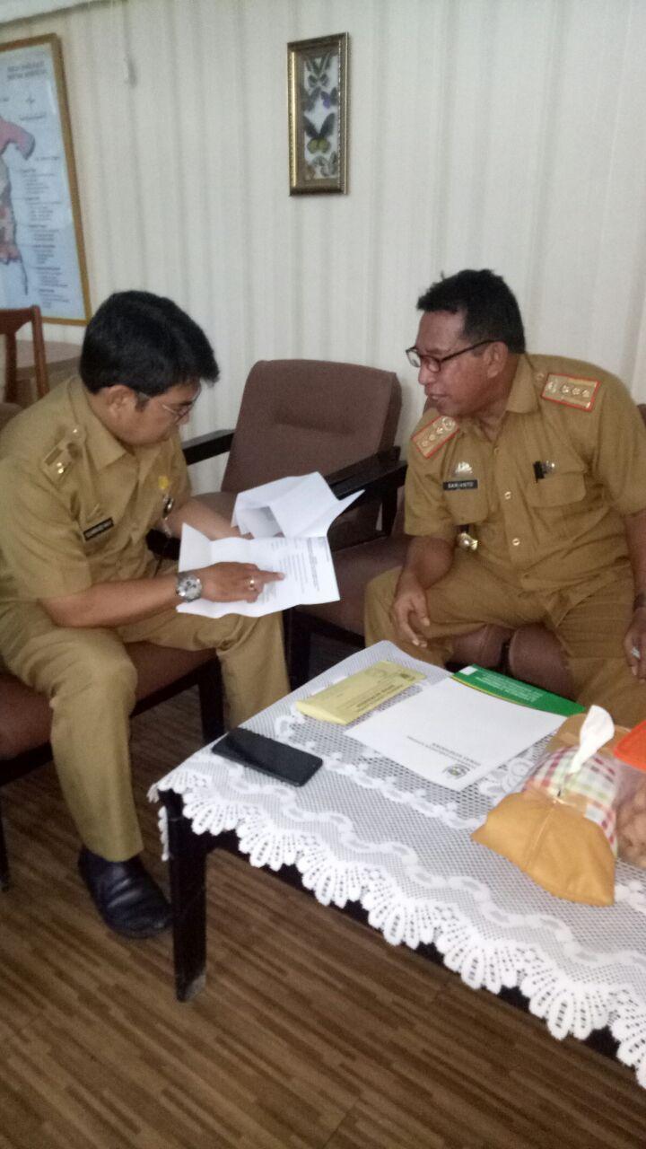 Dinkes Soppeng Konsultasikan Perubahan Puskesmas CabbengE Jadi RS Tipe D