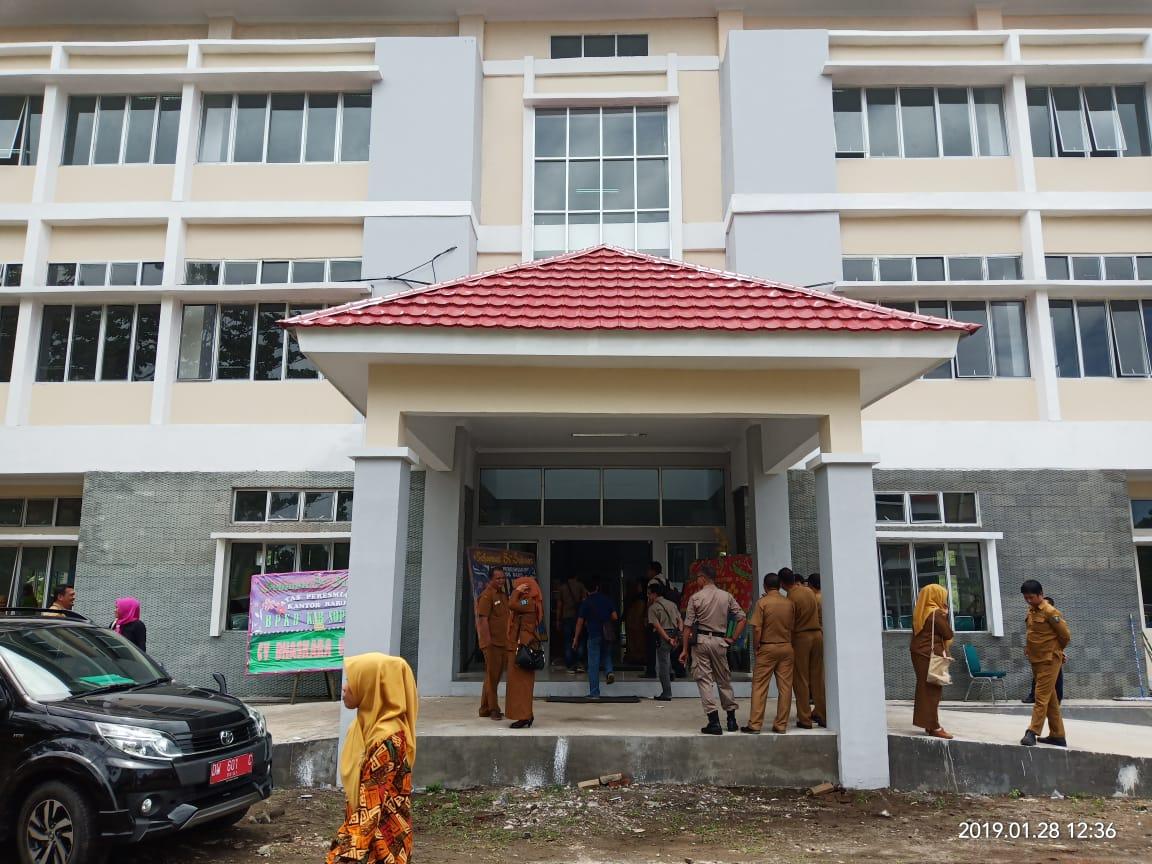 BPKD Soppeng Tempati Kantor Baru  Berlantai Tiga
