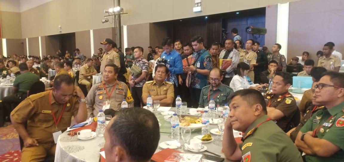 Antisipasi Gangguan Pemilu, Bupati Soppeng Ikuti Rakornas Di Makassar