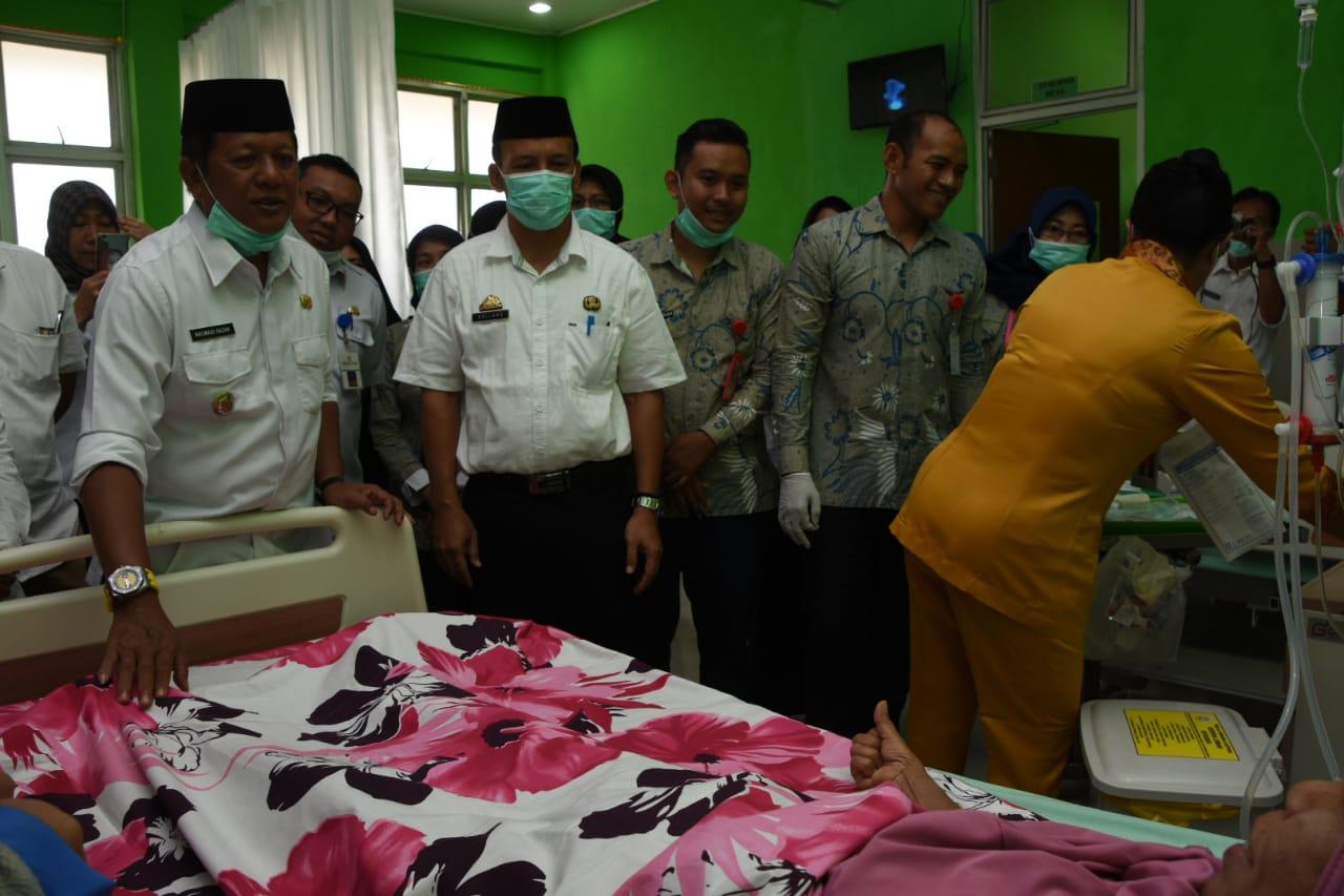 Kaswadi Resmikan Unit Cuci Darah RSU La Temmamala