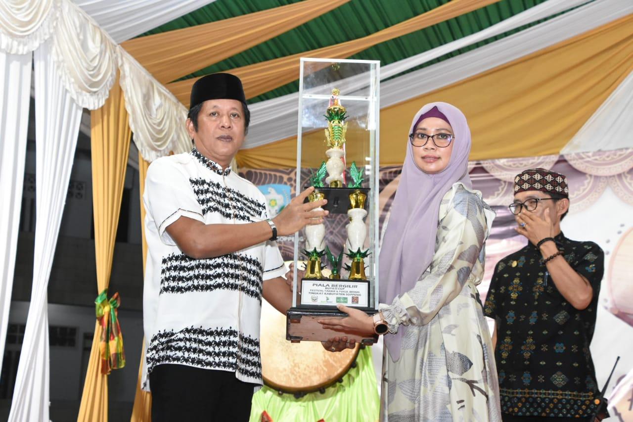 70 Tim Ikuti Festival Takbir Dan Pukul Beduk Di Soppeng