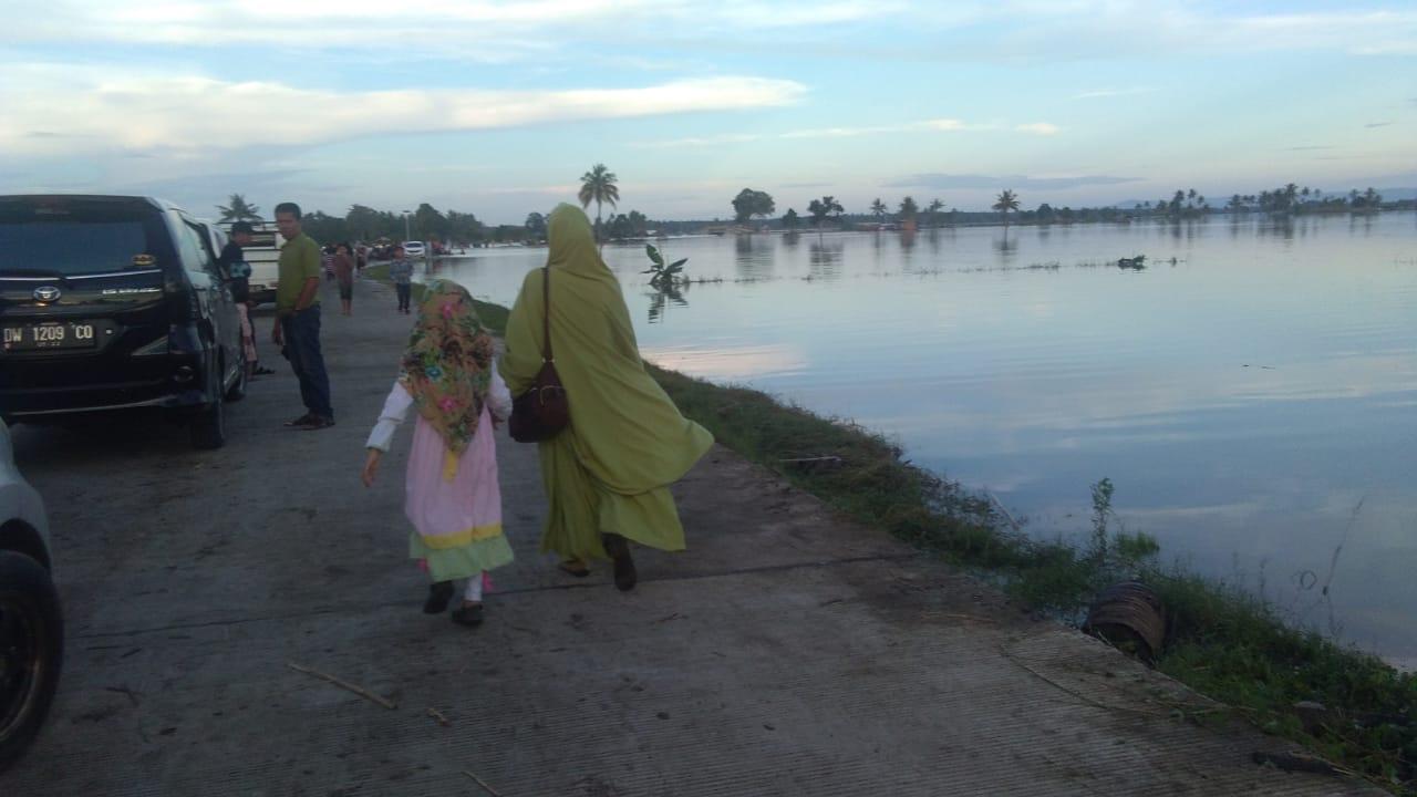 Akibat Banjir, 3.585 Ha Sawah Di Soppeng Terancam Puso