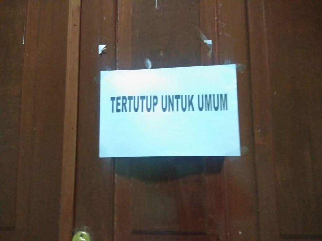 Rapat Pembahasan Anggaran Digelar Tertutup,DPRD Soppeng Dinilai Ketinggalan Zaman