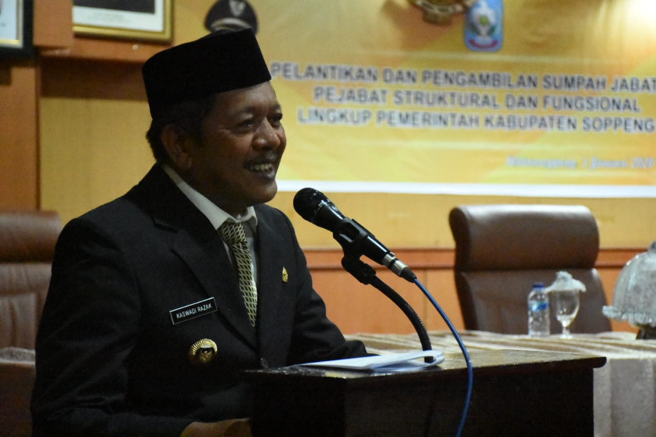 Kaswadi Wanti Wanti ASN Bersikap Netral Dalam Pilkada Soppeng