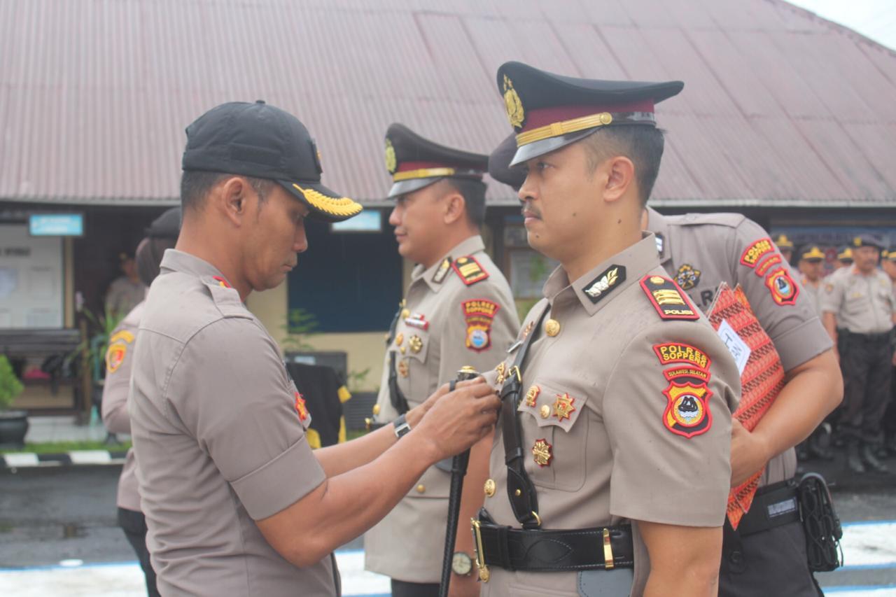 Jabatan Kasat Reskrim Polres Soppeng Berganti