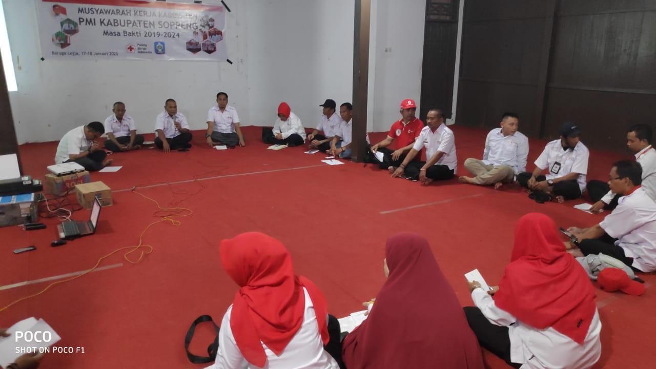 PMI Kabupaten Soppeng Gelar Musker Di Lejja