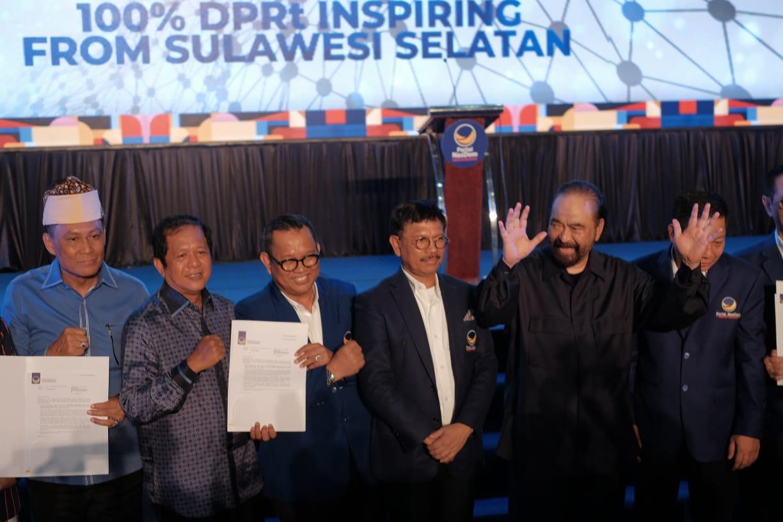 Resmi, Partai Nasdem Usung AKAR-LHD Di Pilkada Soppeng