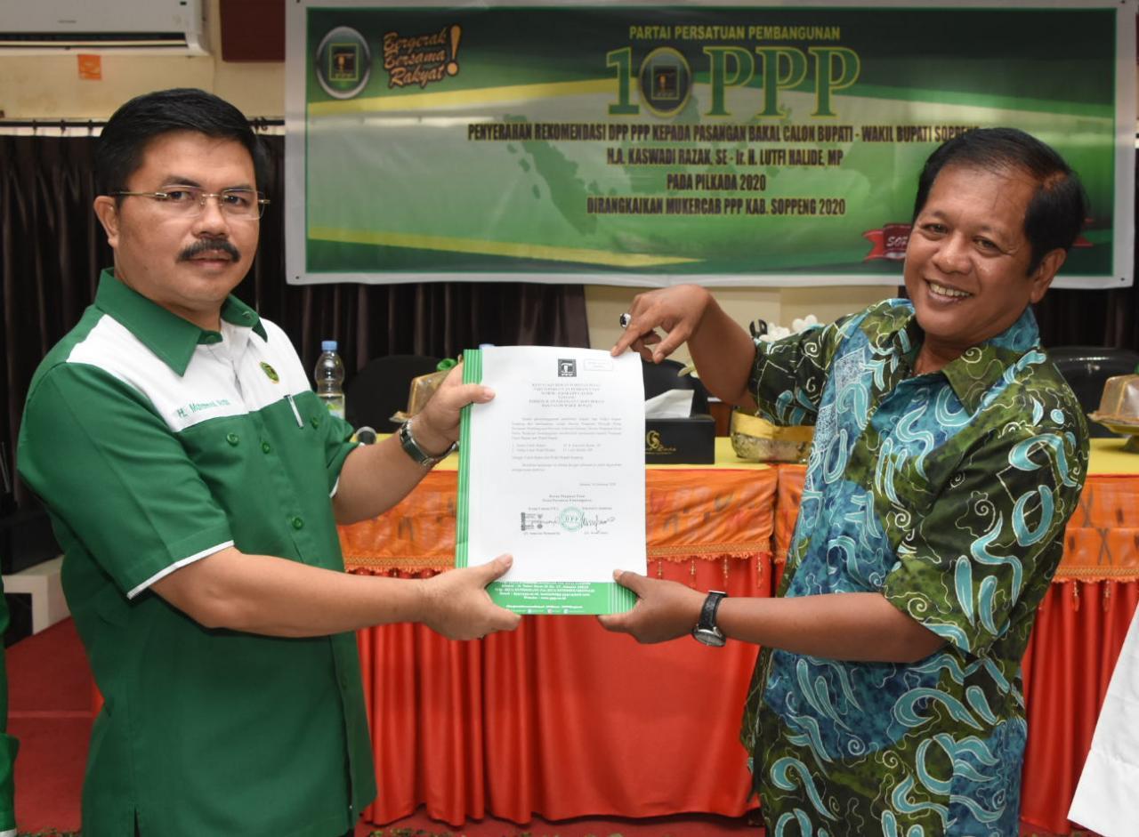 Ketua DPW PPP SulSel Instruksikan Kadernya Menangkan AKAR - LHD di Pilkada Soppeng