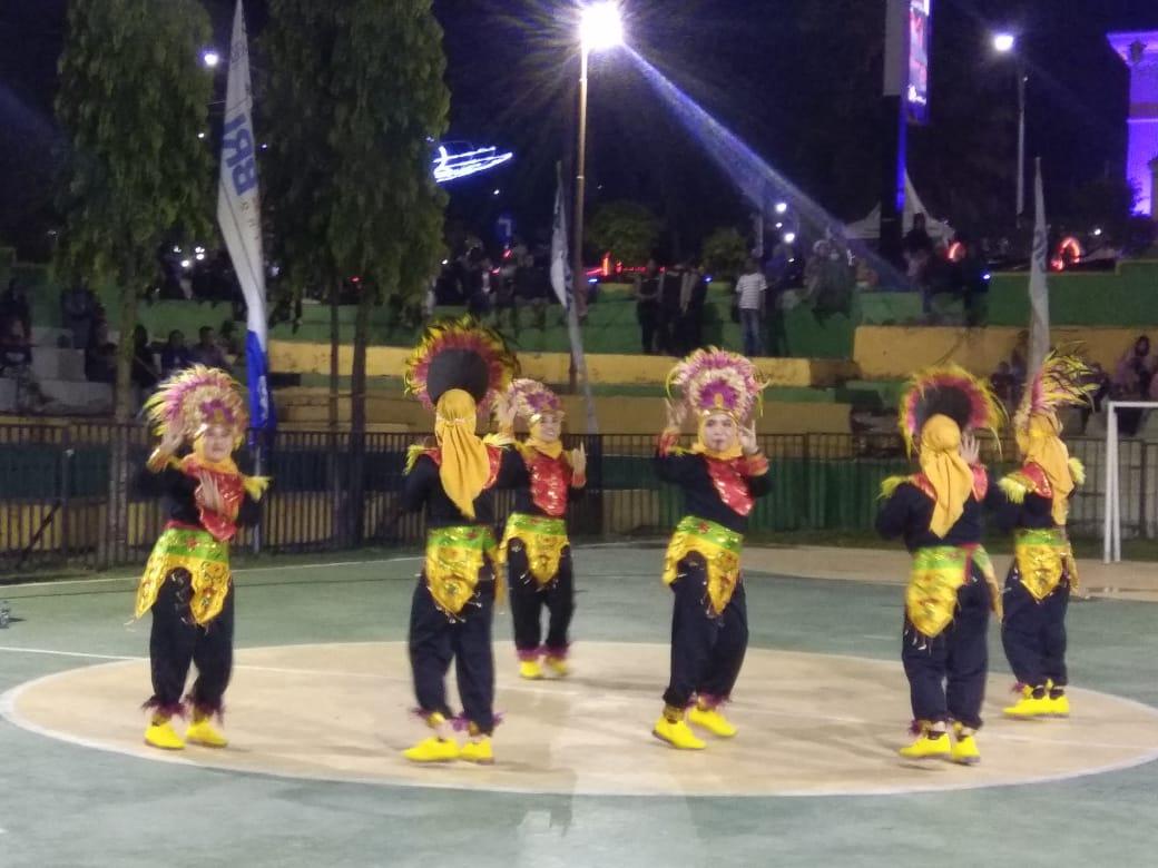 BPKSDM Tampil Jadi Jawara Dalam Lomba Senam Maumere PWI Soppeng
