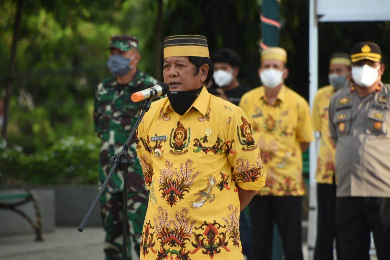 Perketat Physical Distancing, Pemkab Soppeng Gelar Operasi Aman Nusa II
