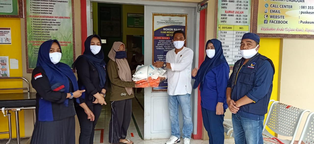 Ratusan APD Dan Ribuan Masker Bantuan RMS Disalurkan DPD Nasdem Soppeng