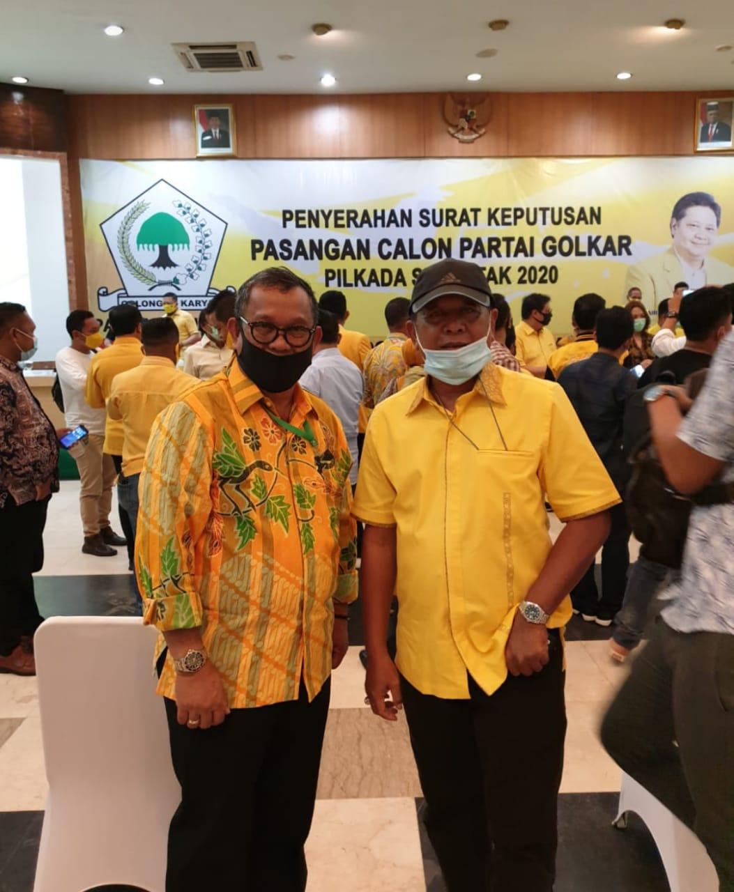 Pasangan AKAR-LHD Akhirnya Dapat Restu Dari DPP Partai Golkar