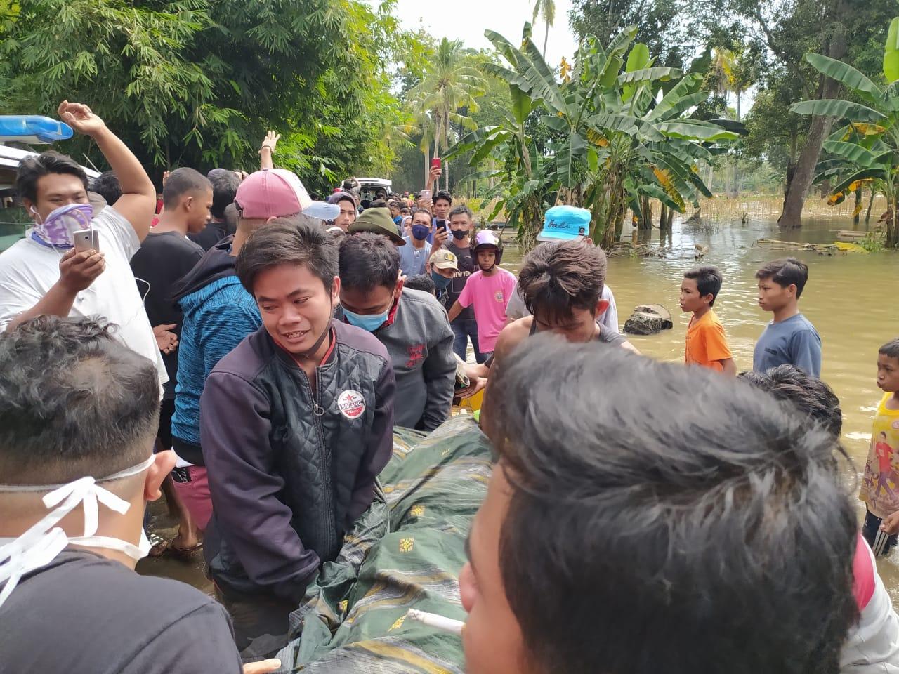 Tiga Orang Tewas Dalam Insiden Perahu Terbalik di Toddang Saloe Limpomajang
