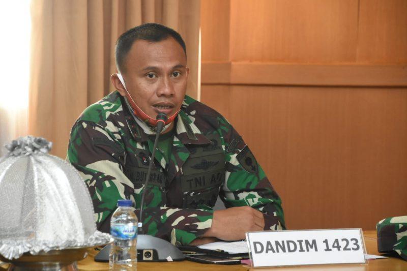 Dandim Soppeng: TNI Akan Backup Polisi Tegakkan Operasi Yustisi