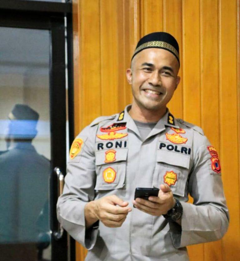 Wakapolres dan Kasat Reskrim Polres Soppeng Berganti