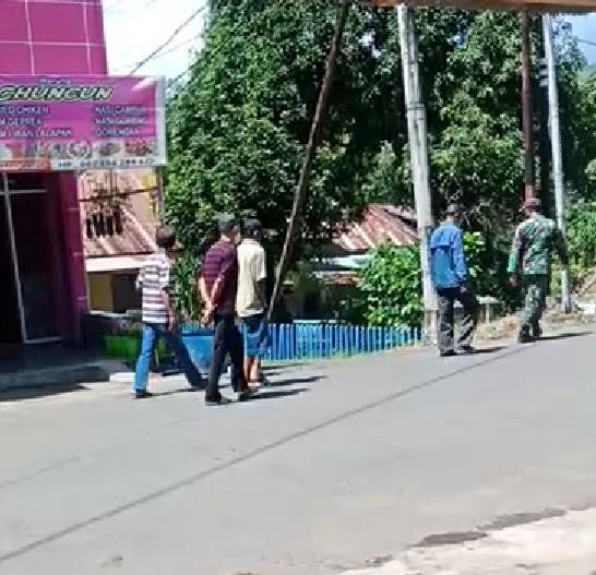 Satgas Covid Soppeng, Gelandang 9 Pelanggar Prokes Dengan Cara Jalan Kaki