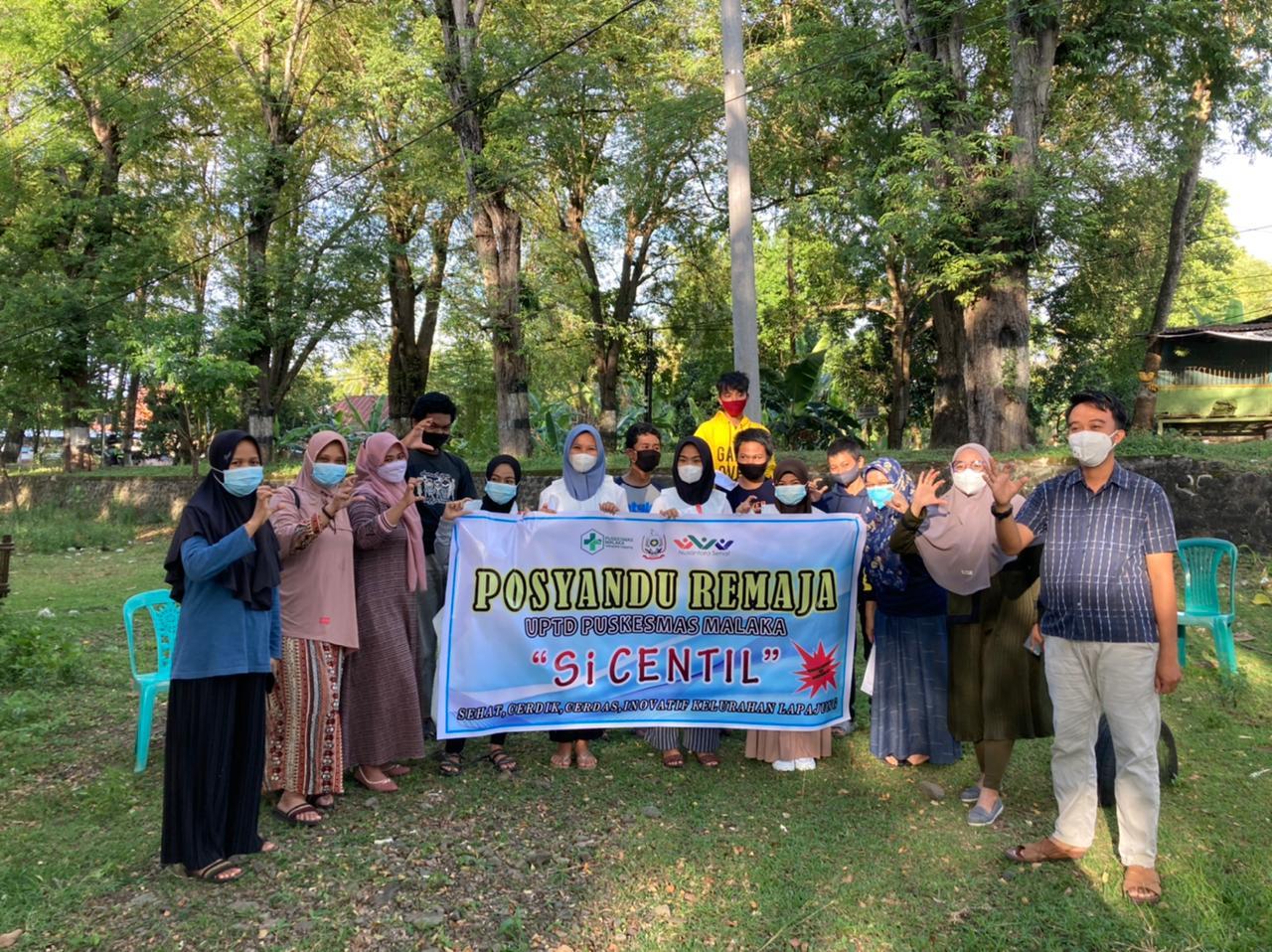 UPTD PKM Malaka Launching Posyandu Remaja Si CENTIL