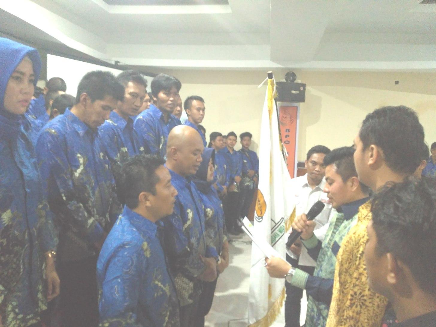 Resmi Dilantik, Ihsan Sawedi Pimpin BPC HIPMI Kabupaten Soppeng