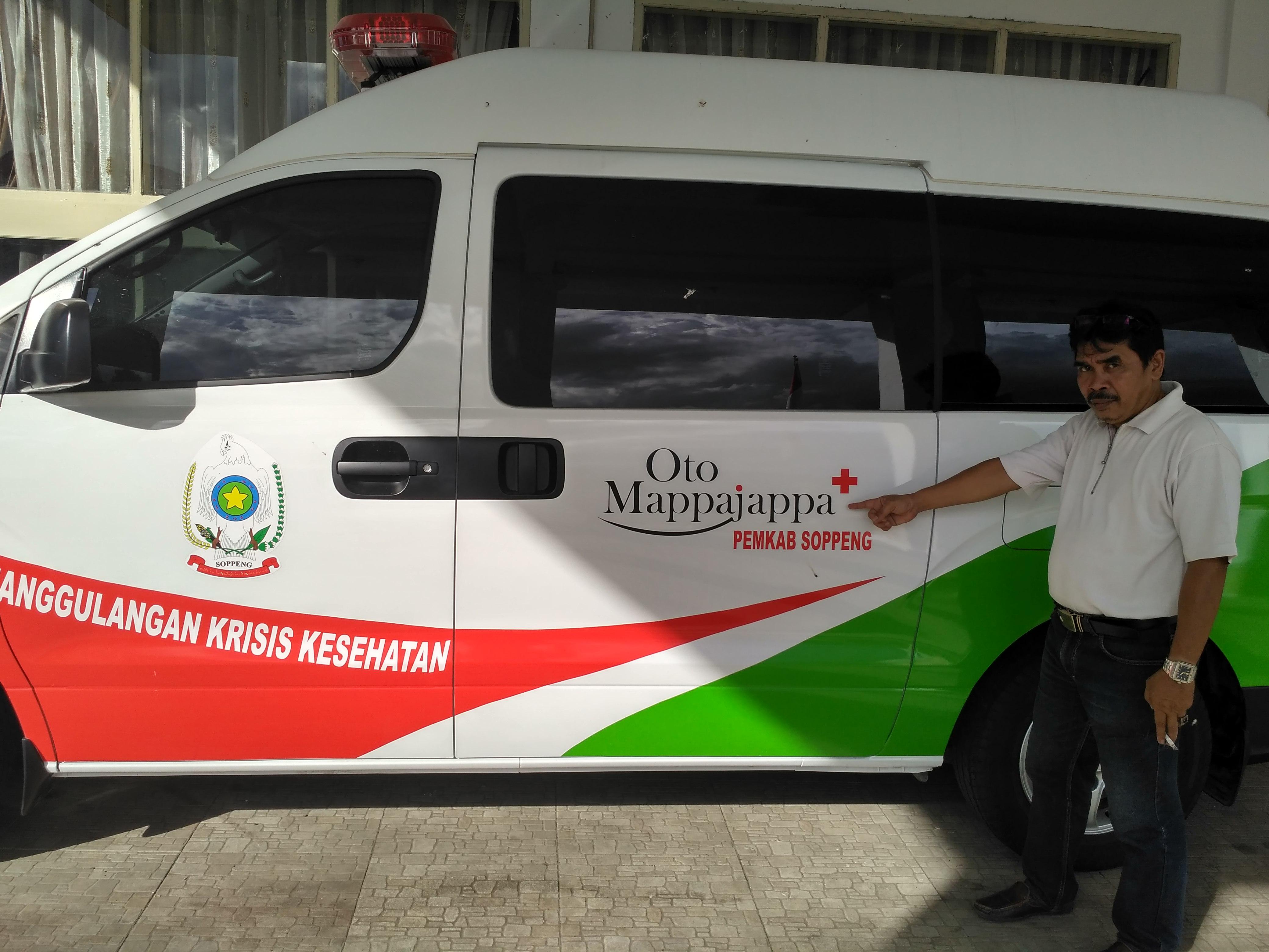 Mappajappa, Ambulance Canggih Milik Pemkab Soppeng
