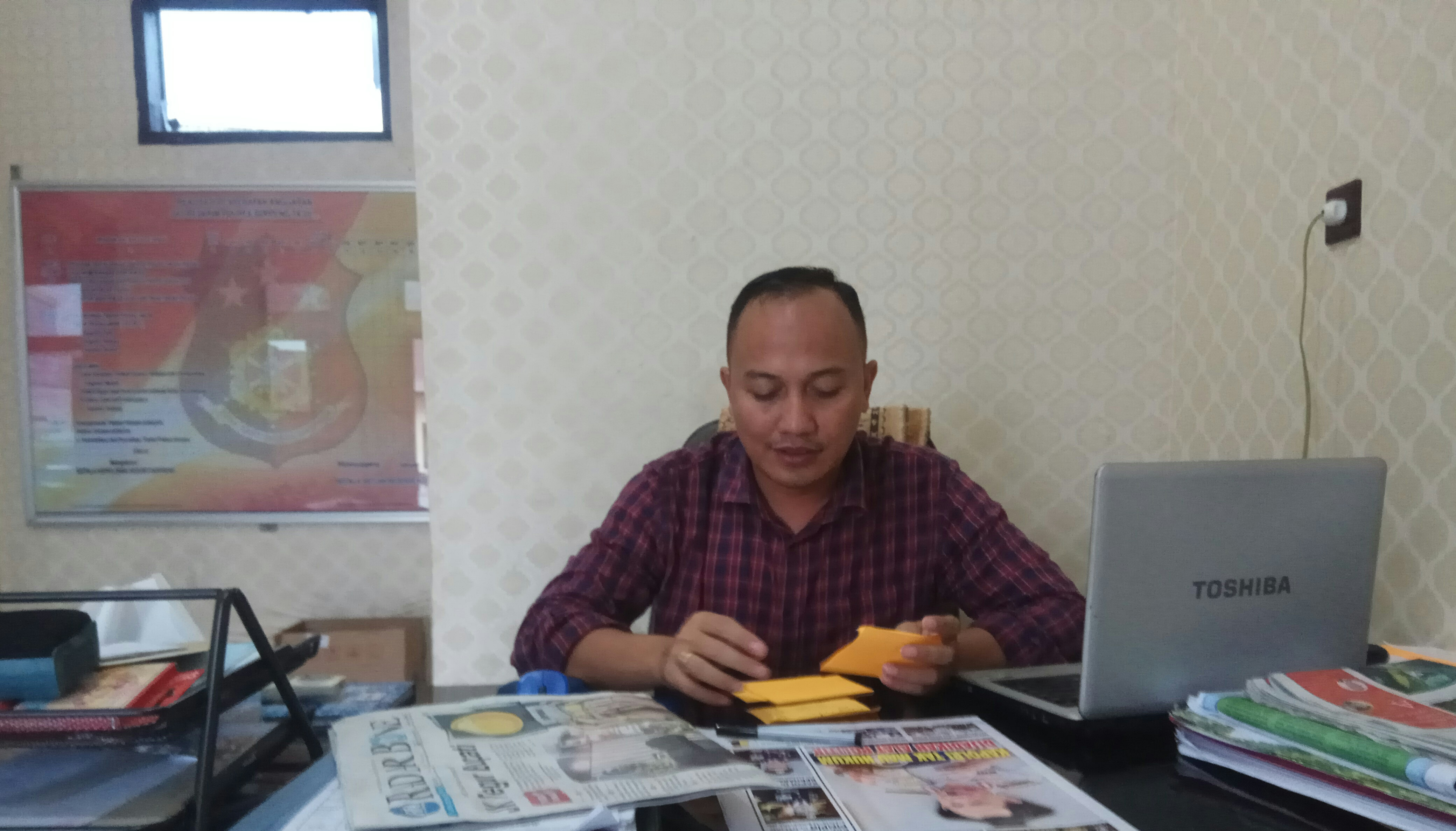 Diduga Korupsi Rp.419 Juta,  Kades  LabaE Terancam 15 Tahun Penjara