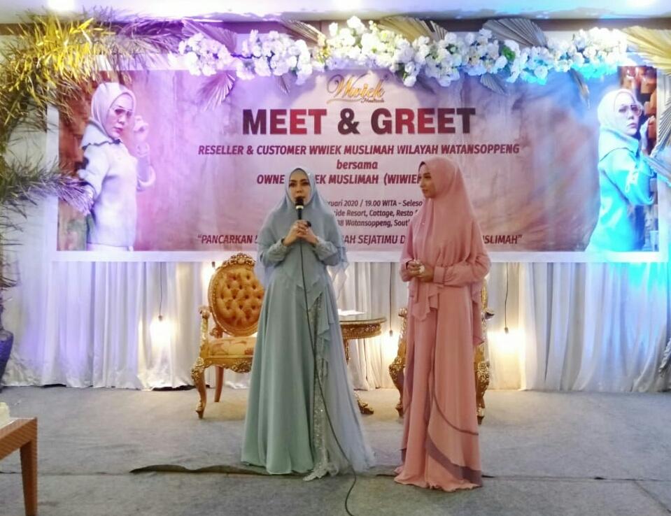 Star Dari Soppeng , Wwiek Muslimah Road Show Ke Berbagai Daerah Di Indonesia