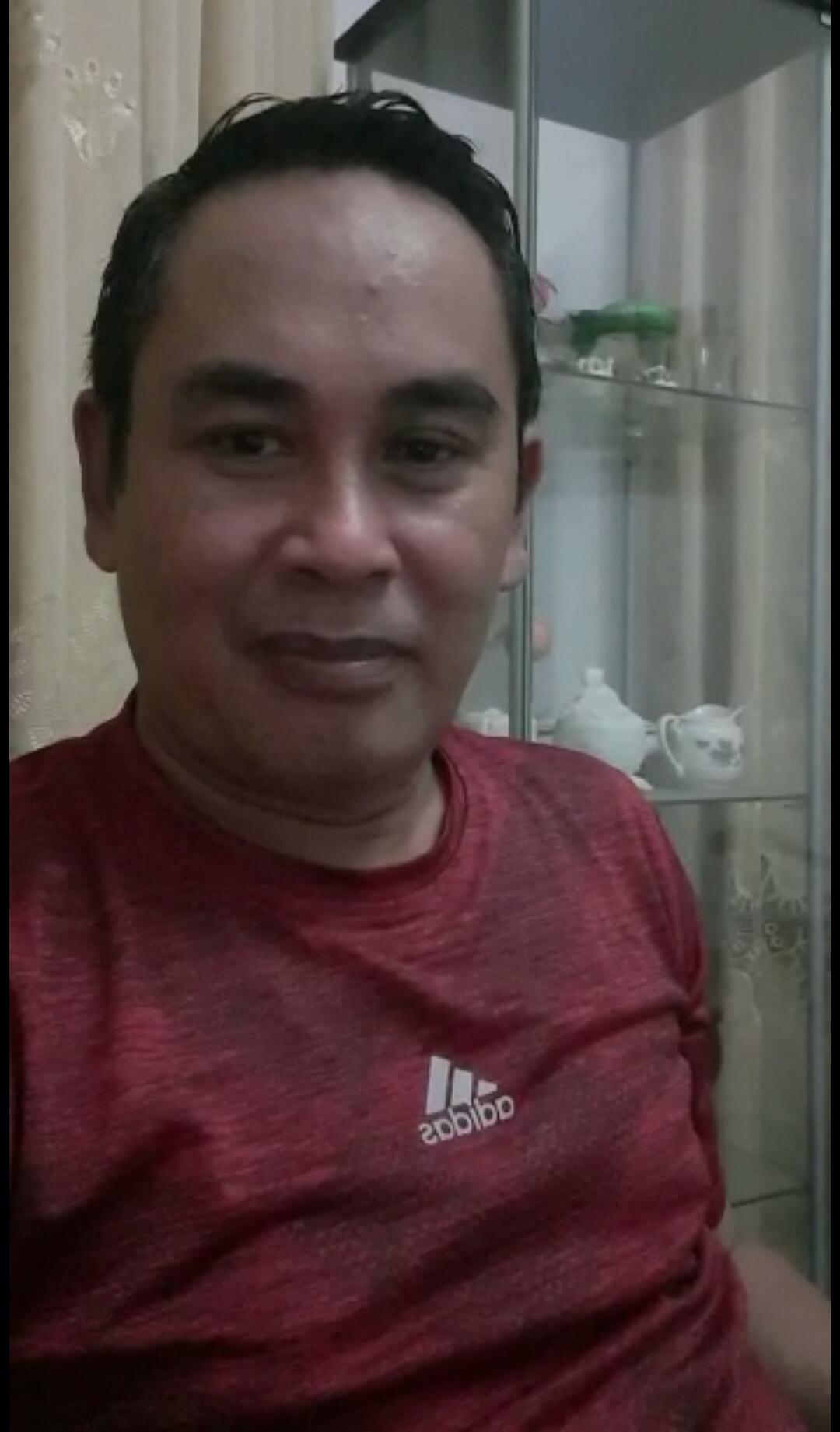 Dinyatakan Negatif Covid 19, Haeruddin Tahang Ucapkan Syukur Dengan Sumringah