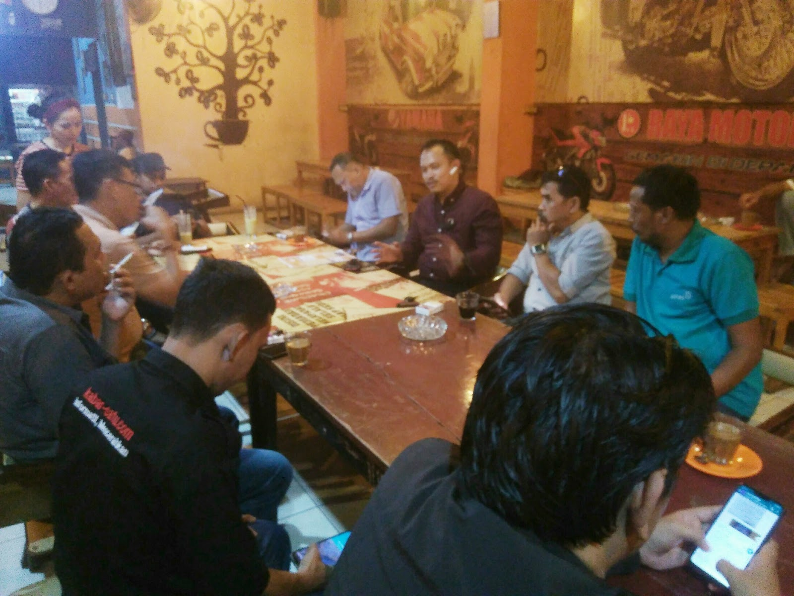 Kasat Reskrim Polres Soppeng Ajak Media Hindari Berita Pemicu Konflik