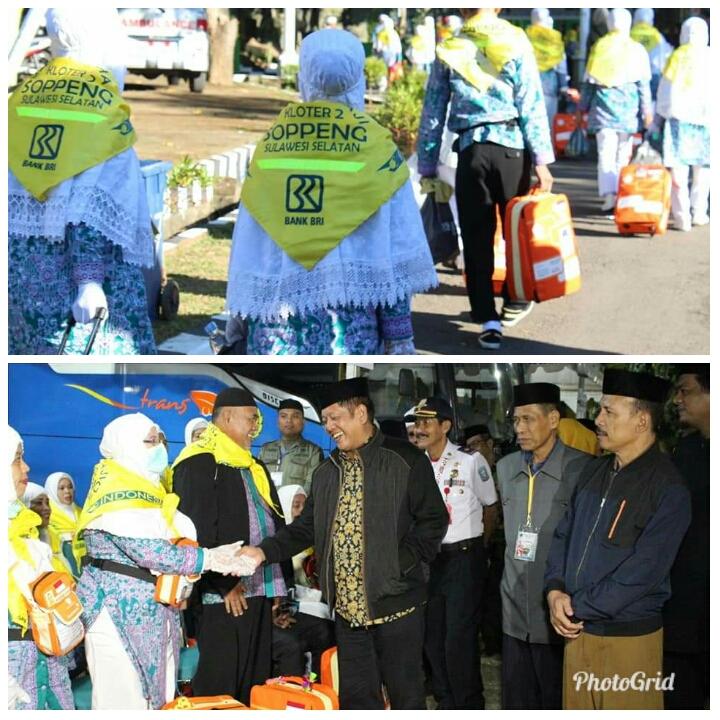 279 JCH Kabupaten Soppeng Tiba Di Asrama Haji Sudiang