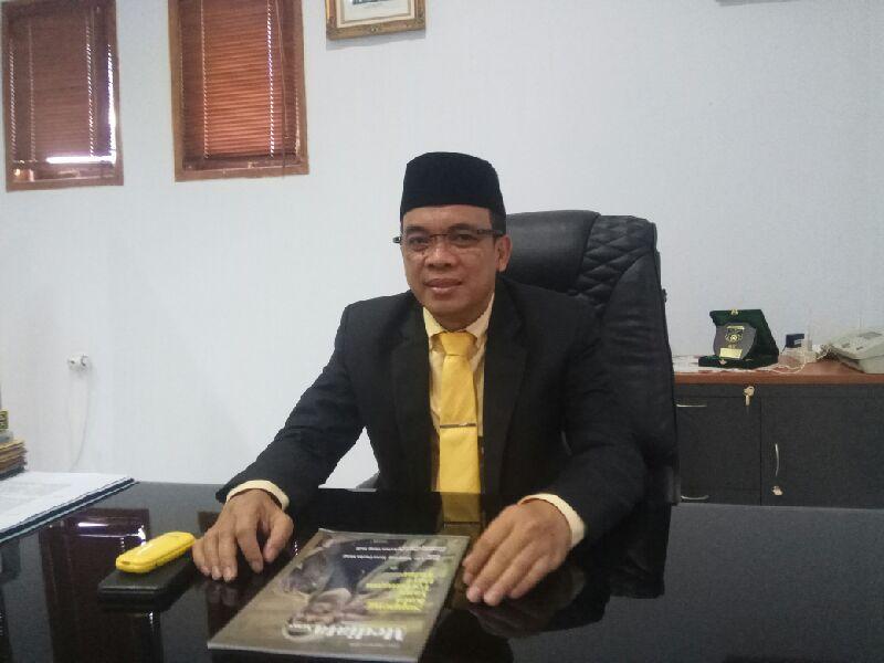 Syaharuddin M Adam Jabat Pimpinan Sementara DPRD Soppeng