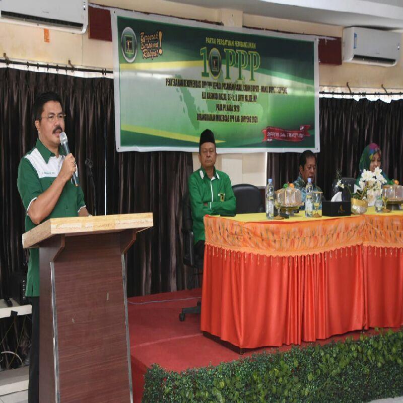 PPP Target Rebut Posisi Pimpinan DPRD Soppeng Di Pileg 2024